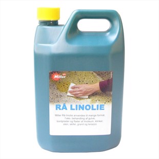 Linseed Oil, Raw - 750 ml or 2,5 liters
