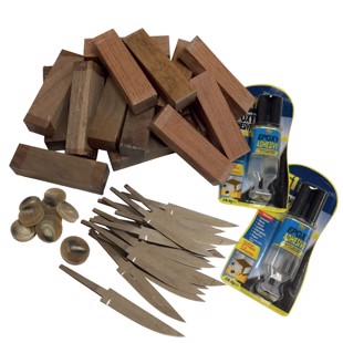 DIY knife kit 4 - 18 knives