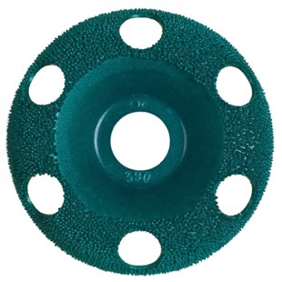 Grit Disc Holey Galahad for Angle Grinder - Fine
